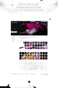 Gloss Website