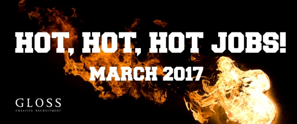 HOT JOBS MARCH 2017